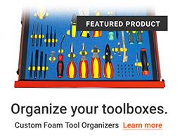 Custom Tool Foam Organizers
