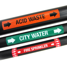 Pipe Markers Amp Pipe Labeling Creative Safety Supply