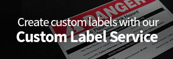 Create custom labels with our Custom Label Service