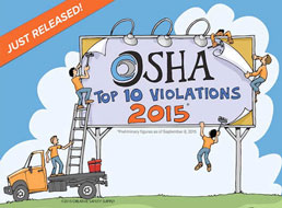 The Top 10 OSHA Violations in 2015