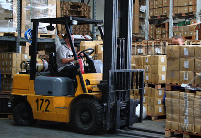 Floor Marking for Forklift Traffic | Creative Safety Supply