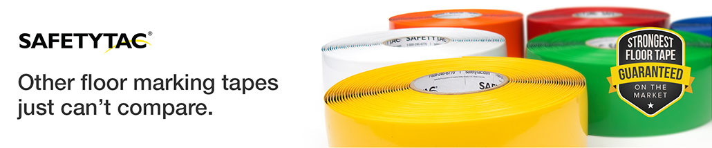 SafetyTac: Other floor marking tapes just can't compare