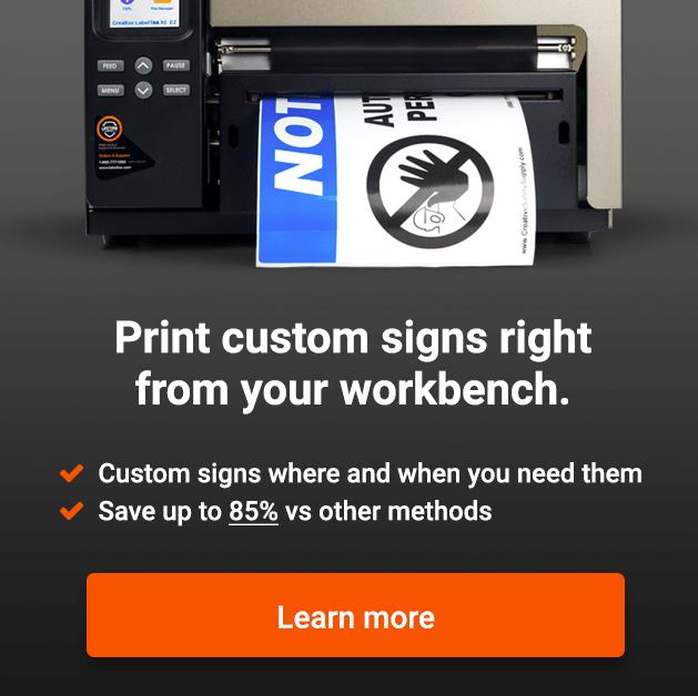 print custom signs