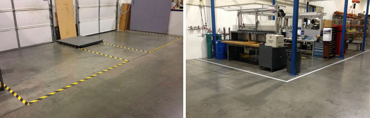 SafteyTac Tape Floor Marking