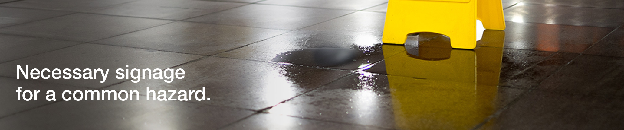 Wet Floor Signs. Neccesary signage for a common hazard.