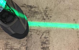 SignCast™ L100 Virtual Line Unit Bright Lines