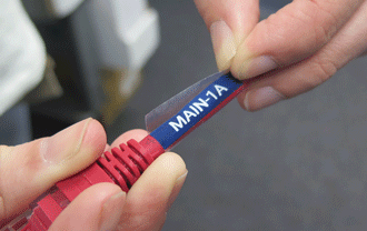 LabelTac<sup>®</sup> self-laminating cable wraps