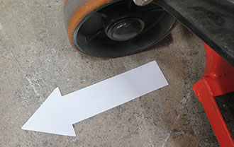 SafetyTac® Shape Tapes resistant