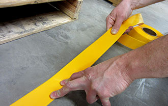 SafetyTac® Floor Tape Easy Install