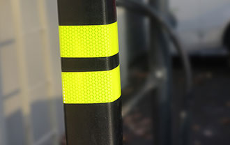 neon brite tape is easy to install