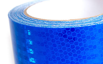 Really Brite Tape highly reflective