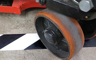 SafetyTac Hazard is scuff resistant