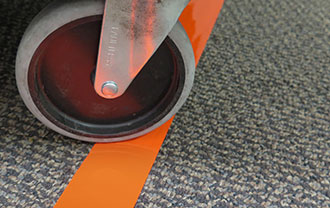 Smart Stripe Carpet Tape stretch and resistant to tear
