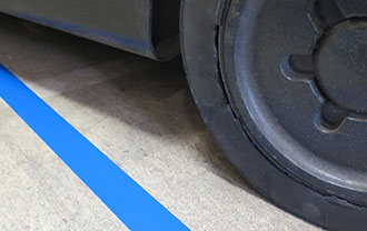 Smart Stripe Tapes resistant to traffic
