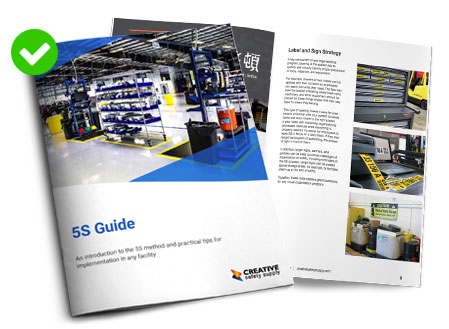 Lean 5S Guide from Creative Safety Supply